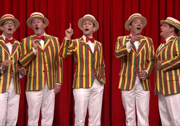 Jimmy Fallon & The Ragtime Gals strike again with Joseph Gordon-Leavitt