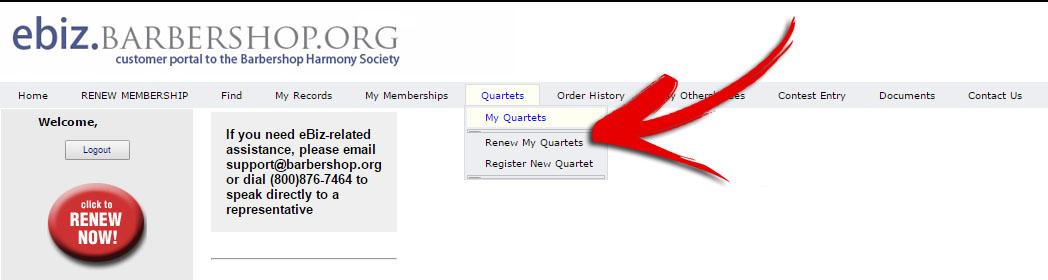 Member renew