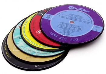 Vintage-Record-Coasters