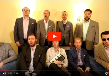 "Cantus performs ""Barbershop"" (a parody of ""Thrift Shop"") – YouTube"