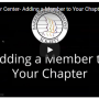 Add A Member To Your Chapter Without Paper!