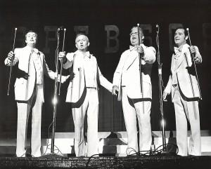 The Easternaires - Dave, Bob, Danny, Eddy
